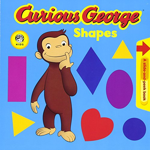 Curious George Shapes (Cgtv Pull Tab Board Book) por H. A. Rey