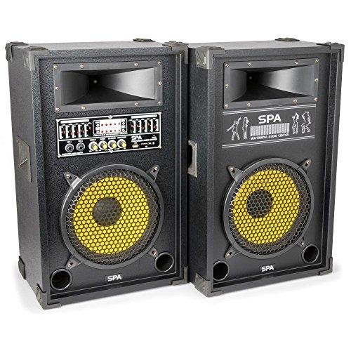 Skytec SPA1000Y - Kit bafles karaoke