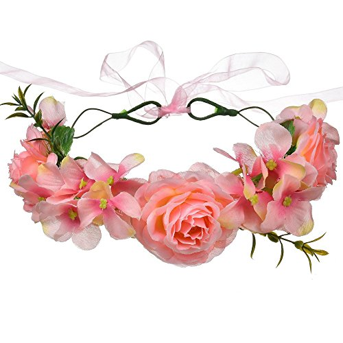 AdorabFitting Girlande garland girlande guder kranz gudelj grunwald Europäische und amerikanische handgefertigte künstliche Rosenblüten
