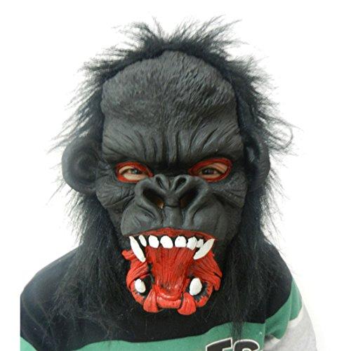 halloween kopfbedeckung halloween kostüm halloween maske Tiermaske(Affe)