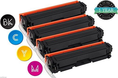 Preisvergleich Produktbild Cool Toner Kompatibel für HP 201A 201X CF400X CF401X CF402X CF403X Toner für Druckerpatrone HP M277DW Toner HP Color Laserjet Pro MFP M277DW Toner MFP M277DW M277N HP Color Laserjet Pro M252DW M252N