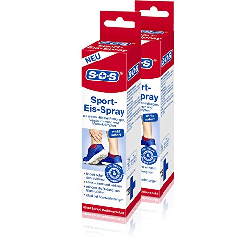 SOS Sport-Eis-Spray (2er Pack) 2*60ml