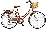 Viking 2018 Belgravia - Bicicleta de Cobre de 6 velocidades para Mujer, tamaño 18'