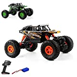 s-idee® 18102 Rock Crawler 18428-B mit 2,4 GHz 4WD Buggy Monstertruck Vollproportional
