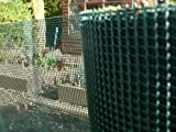 Plastic Garden Fencing 1m x 10m Green 5mm - Best Reviews Guide
