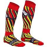 AXO Socks Off Road, Blau/Rot/Gelb, Einheitsgröße