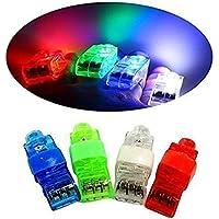 YARBAR Partito LED luci della barretta della barretta del LED lampade Rave dito illumina Confezione da 100 - Rave Fascio