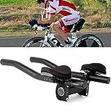 Wqeew Vélo Vtt Guidon Repose Poignée Barre Équipement Course Triathlon Séparés Tube Bicyclette Accessoires