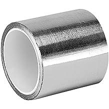"""tapecase 3–5-4380Plata Acrílico Cinta adhesiva de aluminio convertida de 3M 4380, de -30a 300grados Fahrenheit Rendimiento Temperatura, 3.25Grueso, 5m de longitud, ancho de 3"""""""