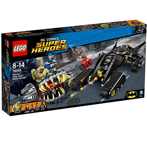 (LEGO Super Heroes 76055 - Batman: Killer Crocs Überfall in der Kanalisation)