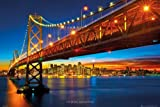 GB Eye 61 x 91,5 cm San Francisco Bay Bridge Maxi Poster, sortiert