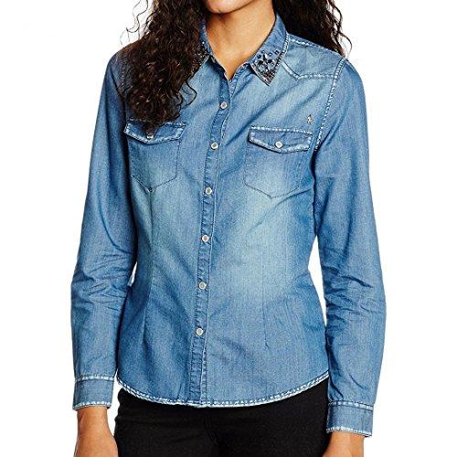 kaporal-womens-t-shirt-blue-medium