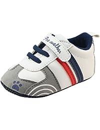 Fossen Bebe Niña Zapatos Recien Nacido Primeros Pasos Antideslizante Suela Blanda Zapatos Patrón de Bordado Mariposa Tamaño 0-6 6-12 12-18 meses