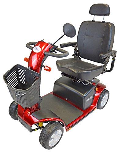 Elektromobil Scooter Life HMV, 4 Räder, 6 km/h, Elektro-Scooter mit Reichweite bis 40 km, Vollfederung, 24 Monate Full Service vor Ort