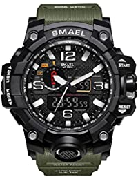 BINZI Sports Watches For Men/Digital Watches For Men/Digital Watch For Boys/Sports Watches For Boys (ArmyGreen)