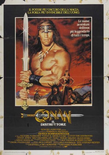 Conan the Destroyer Plakat Movie Poster (27 x 40 Inches - 69cm...