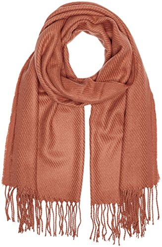 PIECES, Unisex Schal KIAL LONG SCARF NOOS, Braun (Copper Brown), One size
