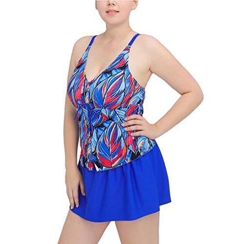 Donna Costume intero costume da bagno delle donne Monokini Costume One Pice Sexy Trikini Blu reale