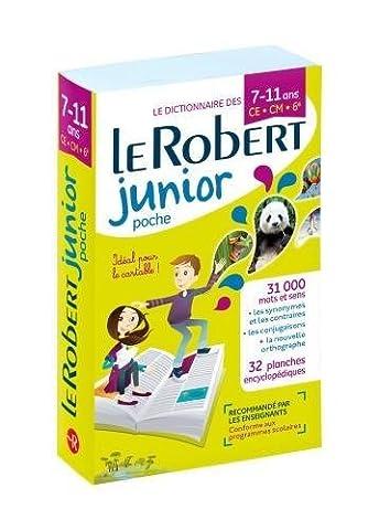 Dictionnaire Le Robert Junior Poche - 7/11 ans -