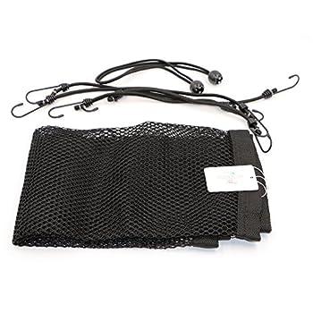 T Tocas (tm) Portable Filet de protection Voiture 115cmx 62cm pour chien (Large(Noir)