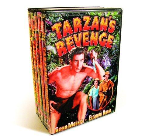 Bild von Tarzan Collection (Tarzan's Revenge / Tarzan The Fearless / Tarzan And The Trappers / Tarzan and the Golden Lion (Silent) / Tarzan The Tiger (Silent) / Tarzan and The Green Goddess) (5-DVD) by Glenn Morris