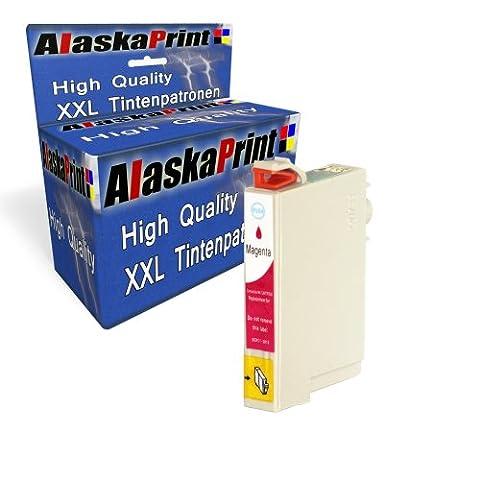 Premium Druckerpatrone Kompatibel für Epson T0713 XL Magenta Rot Epson Stylus SX210 SX205 SX405 epson stylus DX5050 Epson Stylus Office BX610FW Epson Stylus Office BX610FW BX310FN B40W