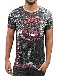 Cipo & Baxx Herren Oberteile / T-Shirt Rolling Thunder