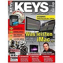 Keys 9 2013 mit DVD - iMac im Studio - Software auf DVD - Personal Samples - Free Loops - Audiobeispiele