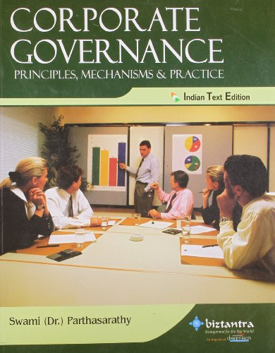 Corporate Governance: Principles, Mechanisms & Practice