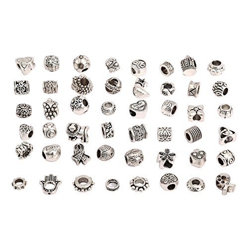 rkc-charms-100-pc-argent-antique-plaque-nickel-sans-plomb-oxyde-en-metal-perles-charms-set-mix-lot-c
