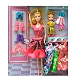 Fashion Baby Doll with Baby & Shoes Set