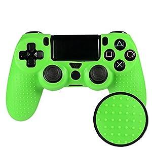 eXtremeRate Schutzhülle Hülle Tasche Silikon Case mit Analog Sticks Thumbstick Thumbgrips für Xbox One S/X Elite PS4 Playstation 4 Slim Pro Controller