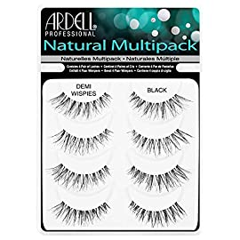 Ardell professional natural multipack – demi wispies black