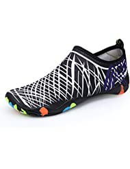 Santiro Unisex Zapatos de Agua de Nataci¨®n Calzado de Agua Calzado de Surf Calzado de Playa.