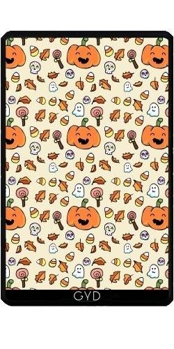 Hülle für Kindle Fire 7 pouces (2012 Version) - Halloween Kritzelt Lustige Gesichter by AnishaCreations