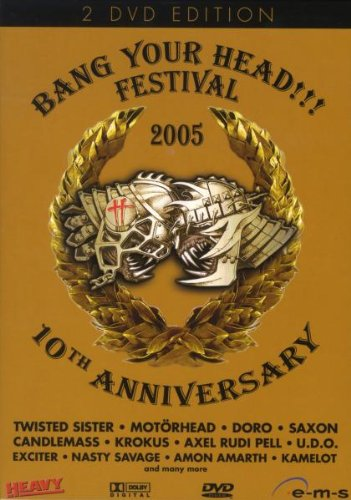 Various Artists - Bang Your Head!!! Festival 2005 - 10th Anniversary (2 DVDs)