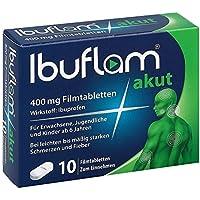 Preisvergleich für Ibuflam akut 400 mg, 10 St. Filmtabletten