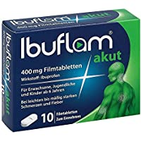 Ibuflam akut 400 mg, 10 St. Filmtabletten - preisvergleich