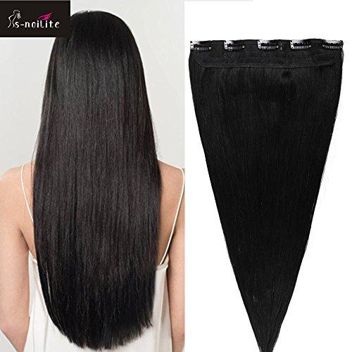s-noilite-16-40cm-extension-clip-capelli-veri-naturali-one-piece-5-clips-1-jet-nero-estensioni-ferma