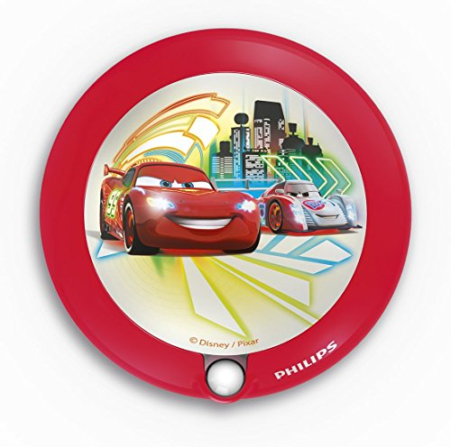 Philips Disney Cars LED Nachtlicht, rot, 717653216