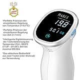 JIARUI Sous Vide, Präzisionskocher/Immersion Zirkulator mit Digitaltimer und exakter Temperaturreglung, Ultra Leise, 850W, Weiß, Geschenkidee - 4