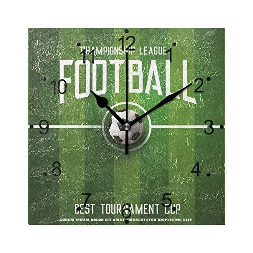 Fußballwanduhr Größe