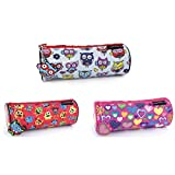Best Disney Book In Spanishes - Round Pencil Case Assorted Designs Monster & Pen Review