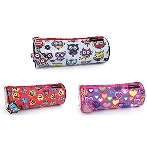 Trousse ronde Designs assortis Monster & aimant