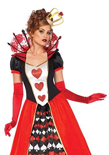 Leg Avenue 85593 - Kostüm Set Herzkönigin, S, -