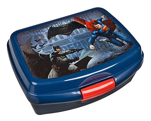 Undercover-BSFH9901-Brotzeitdose-Batman-vs-Superman-blau