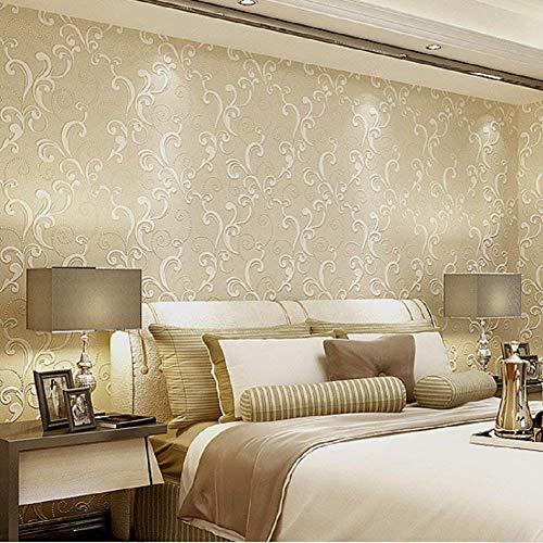 Tapeten Rolle für Wohnzimmer-Schlafzimmer Fernsehhintergrund (E)