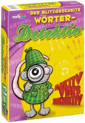 Noris 606076224 - Der blitzgescheite Wörter - Detektiv