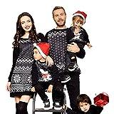 Homebaby Abiti Natalizi per la Famiglia Casual Babbo Natale...