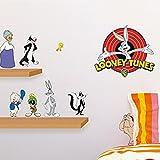 Kinder Wandtattoo Bugs Bunny und seine Freunde